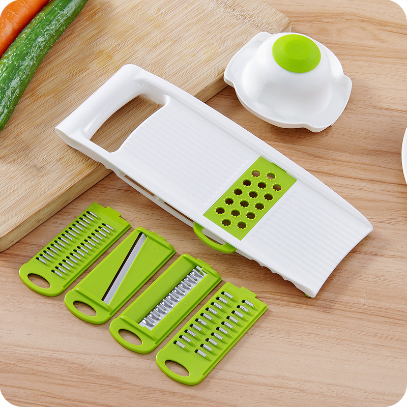 kitchen mandoline cheap knobs and pulls us 14 55 multi vegetable slicer 5 interchangeable blades of carrot potato cucumber chipper shredder chopper grater set in graters