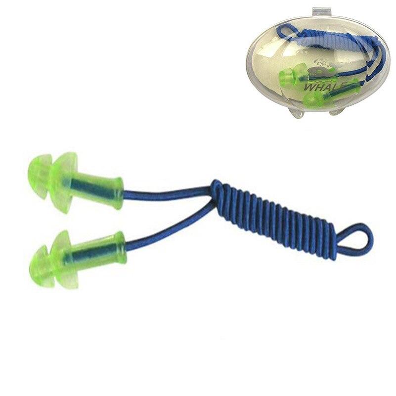 Vandeniui atsparus plaukimo Siamo ausų kištukas Profesionalus silikono plaukimo ausų kištukas suaugusiems plaukiojantiems vaikams Nardymas minkštuoju triukšmo ausies kištuku