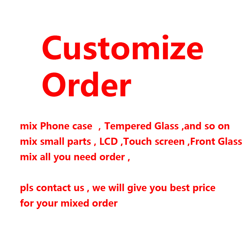 wholesale mix order LCD for iPhone X XS Max XR 8 7 6 6S Plus front