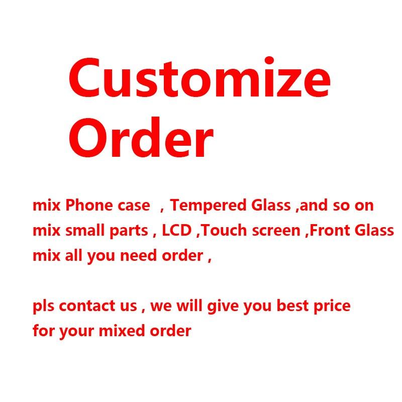 ขายส่ง MIX ORDER LCD สำหรับ iPhone X XS MAX XR 8 7 6 6S PLUS ด้านหน้ากระจกด้านนอก-ใน จอ LCD โทรศัพท์มือถือ จาก โทรศัพท์มือถือและการสื่อสารระยะไกล บน AliExpress - 11.11_สิบเอ็ด สิบเอ็ดวันคนโสด 1