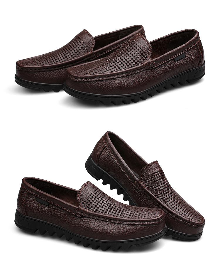 Jintoho ανδρικό παπούτσι ιταλικό δερμάτινο μοκασίνι 37 έως 48 msow