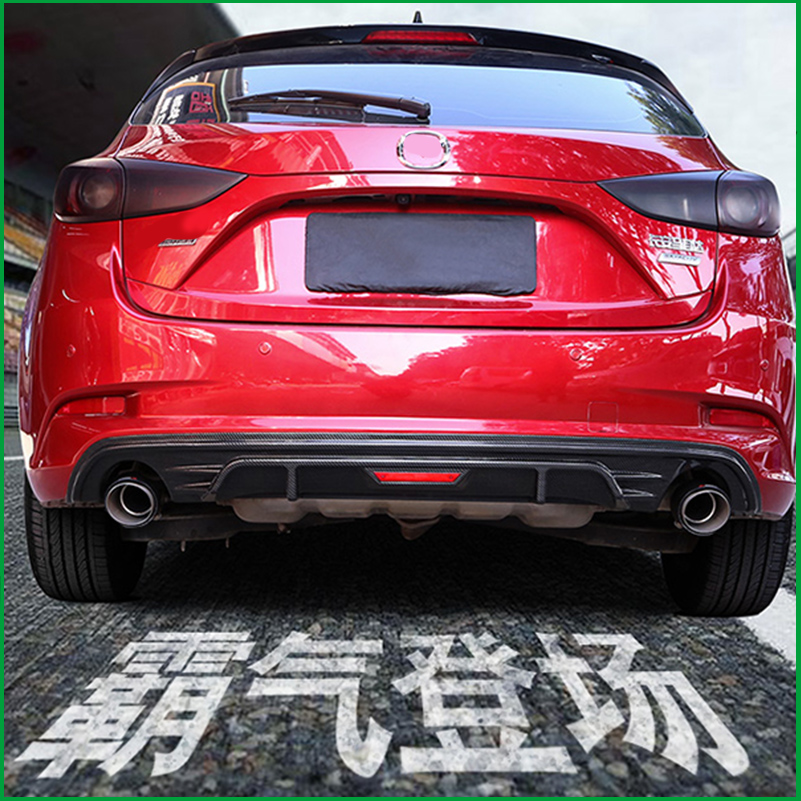 Cheap for all in-house products 2017 mazda 3 rear diffuser