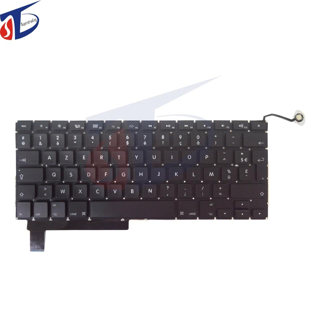 10PCS France Keyboard For font b Apple b font font b Macbook b font Pro 15