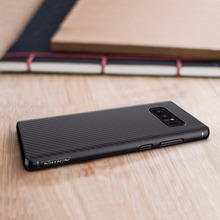 Nillkin Synthetic fiber for samsung galaxy note 8 case Carbon Fiber PP Plastic Back Cover for samsung note 8 case luxury 6.32