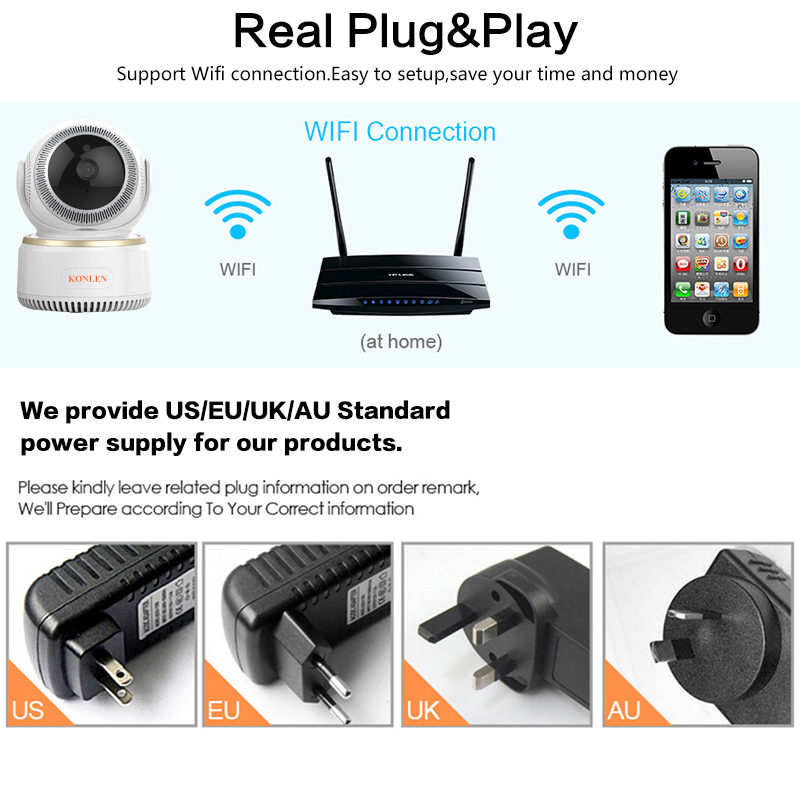 WIFI Wireless Security Camera 13
