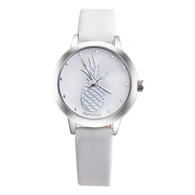 Célèbre Marque femmes montre simplicité classique montre bracelet Ananas  NL88