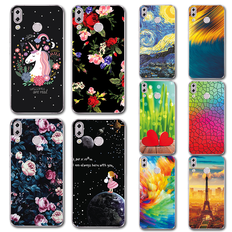 For Asus Zenfone 5z Zs620kl Phone Case Cover Zenfone 5 Ze620kl Cute Novelty Tpu Painted Covers Case For Asus Zenfone 5 Ze620kl Strengthening Waist And Sinews Phone Bags & Cases