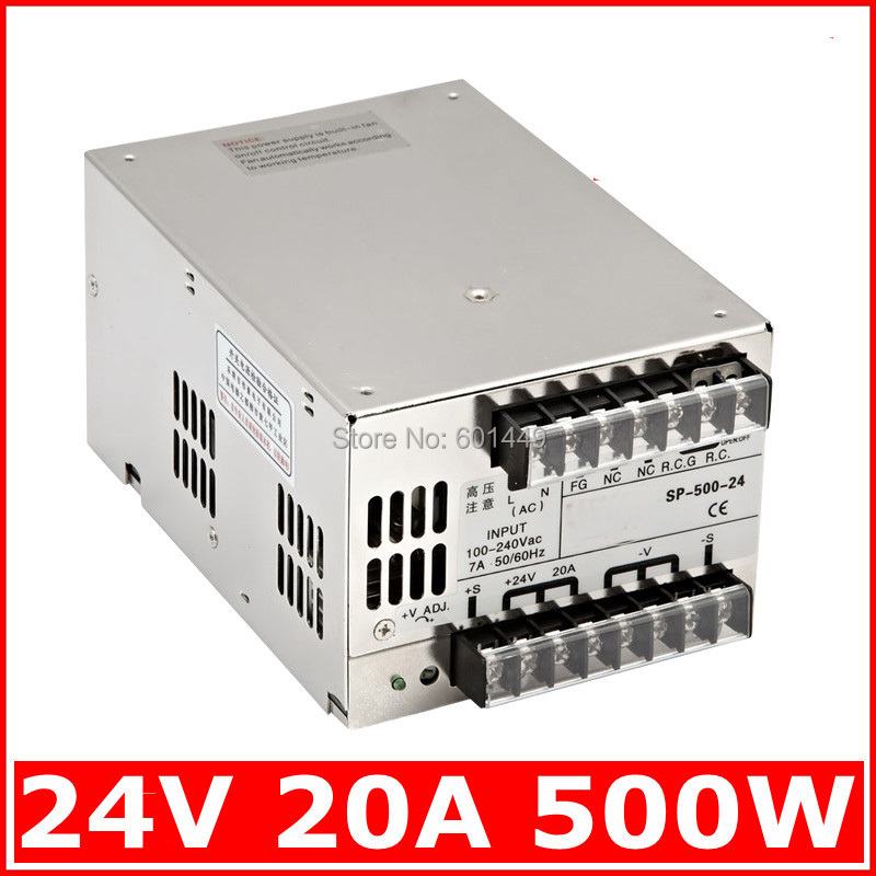 Electrical Equipment & Supplies> Power Supplies> Switching Power Supply> S single output series>SP-500W-24V