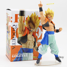 Dragon ball z gogeta super saiyan com figuração gogeta vol.1 figura de ação pvc collectible modelo brinquedo 21cm(China)