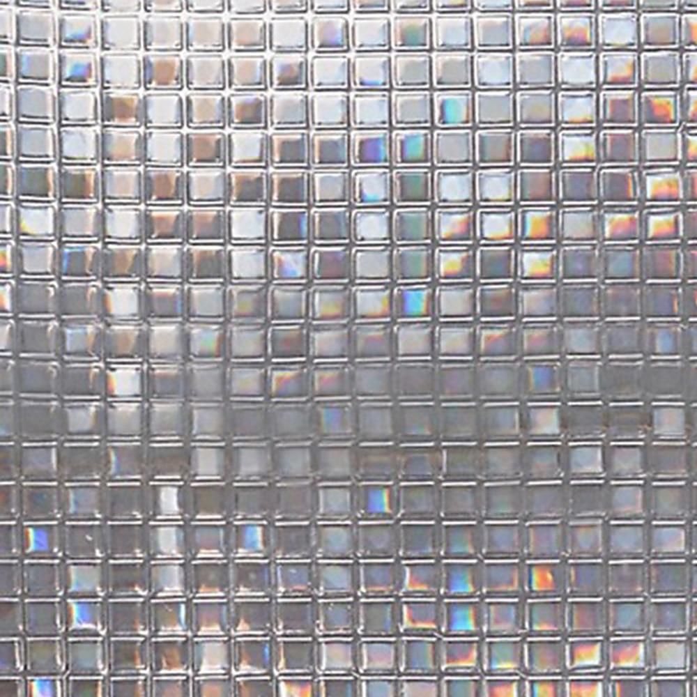 3D Texture 3D Glass Reflective Foil Laser No Adhesive