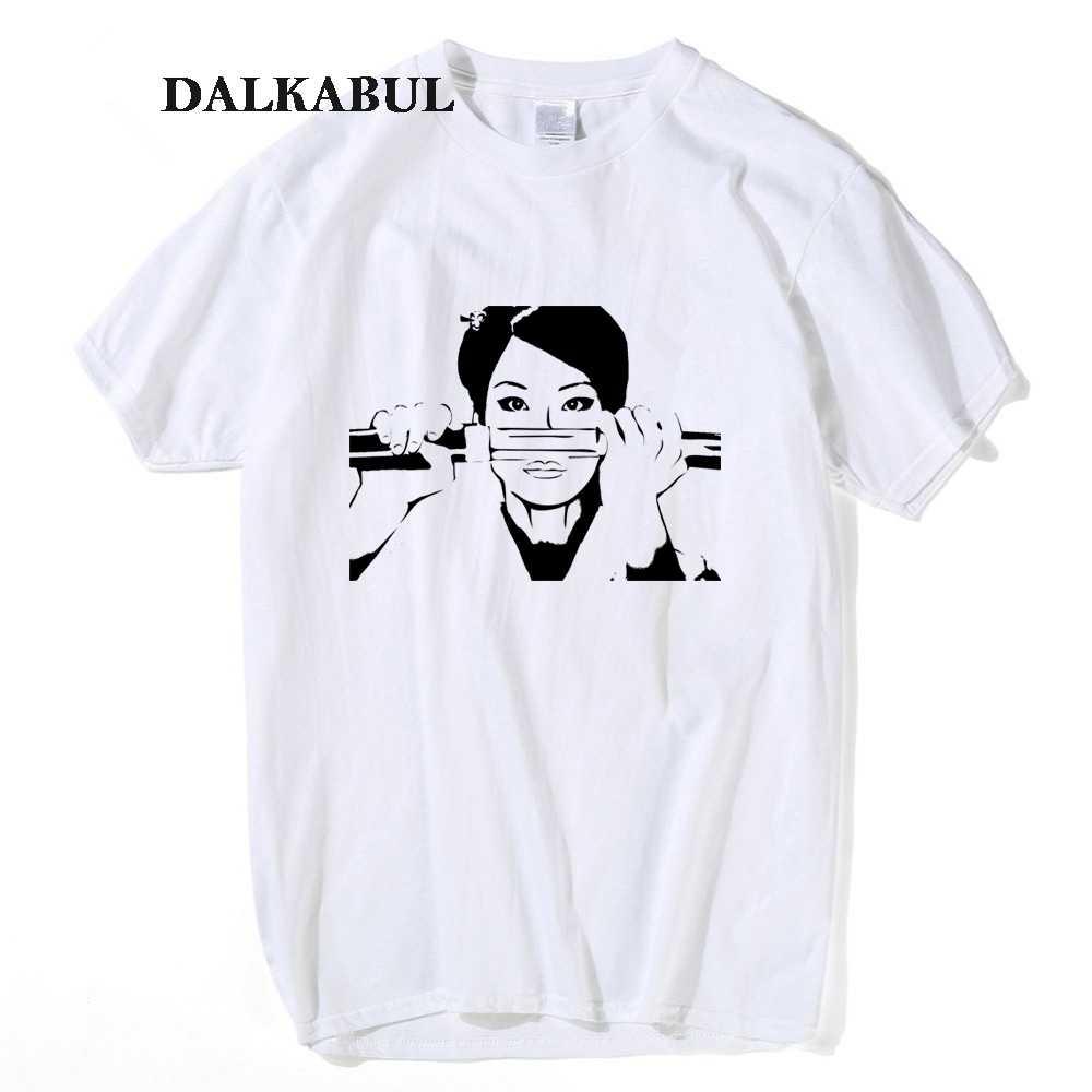 a51030862 Quentin Tarantino Kill Bill T shirt Men Women Girl lucy liu kill bill anime  T-shirt Japanese KATANA SAMURAI BRIDE'S SWORD Tees
