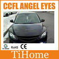 Free Shipping CCFL ANGEL EYES FOR MAZDA 6, NON PROJECTOR HALO RING FOR MAZDA 6, CCFL ANGELEYES KIT (a set)