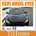 Free envio ccfl angel eyes para mazda 6, NÃO PROJETOR de HALO ANEL PARA MAZDA 6, KIT CCFL ANGELEYES (um conjunto)
