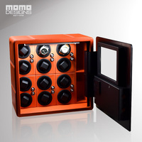 Intelligent Safe Box for 12 Automatic Watch Winder Display 9 Watches storage with LCD touch screen Hidden strongbox