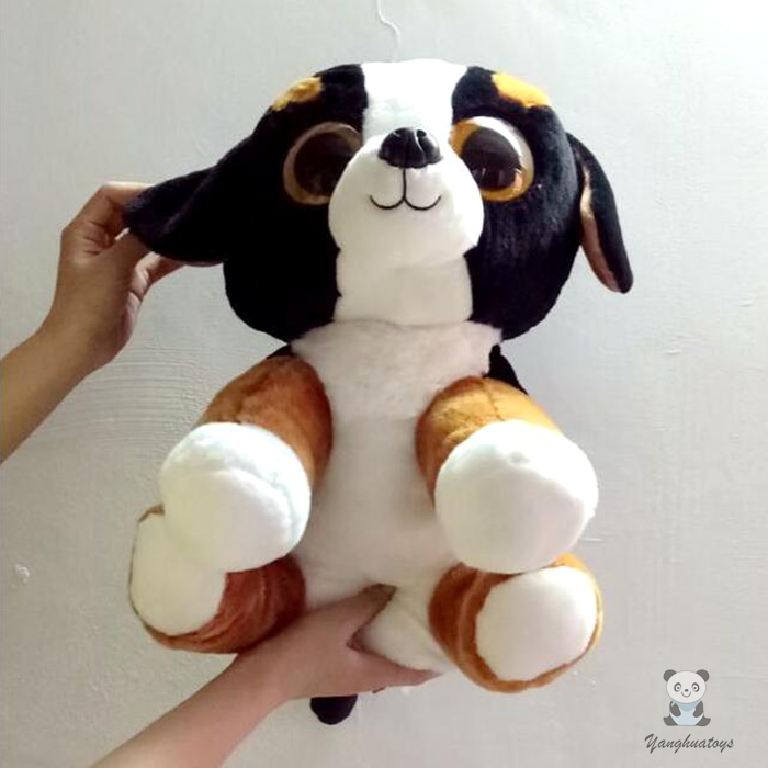 Large Bernese Mountain Dogs Dolls  Plush Toys TY Stuffed Animals  Big Toy Children Gift  Pillow  45cm plush animals black footed ferret doll stuffed children s toys simulation animal dolls rare gifts
