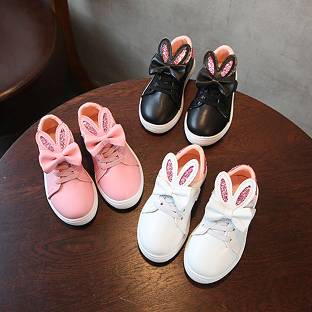 Toddler Kids Sport Skate Baby Shoes Boys Girls Cartoon Ears Soft Sole Sneakers Lovely and Charming design available,Make your ba