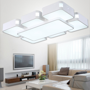 Montowane na powierzchni nowoczesne lampy sufitowe led do salonu sypialnia lamparas de techo colgante led oprawa oświetleniowa sufitowa oprawa