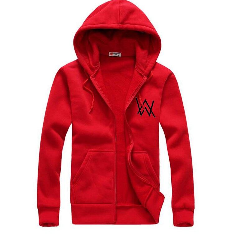 2017Mens Hoodies Sweatshirts Music DJ Comedy Alan Walker Hip Hop Hoodie Black Jacket Men ...