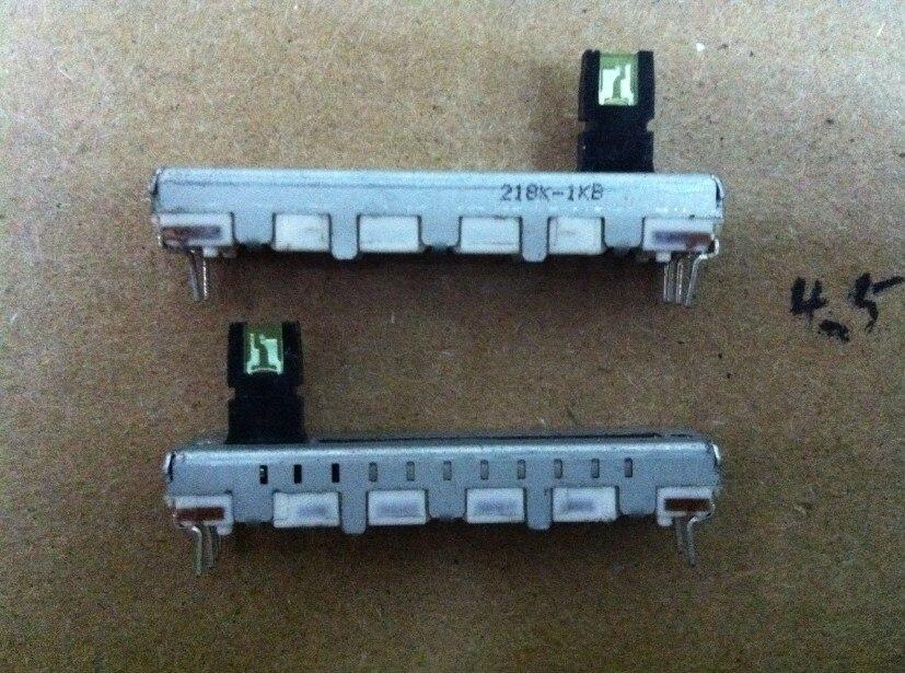 ALPS 4.5 cm Alpine Slide Potentiometers 1K single joint stepping axis length 10MM LIGHT