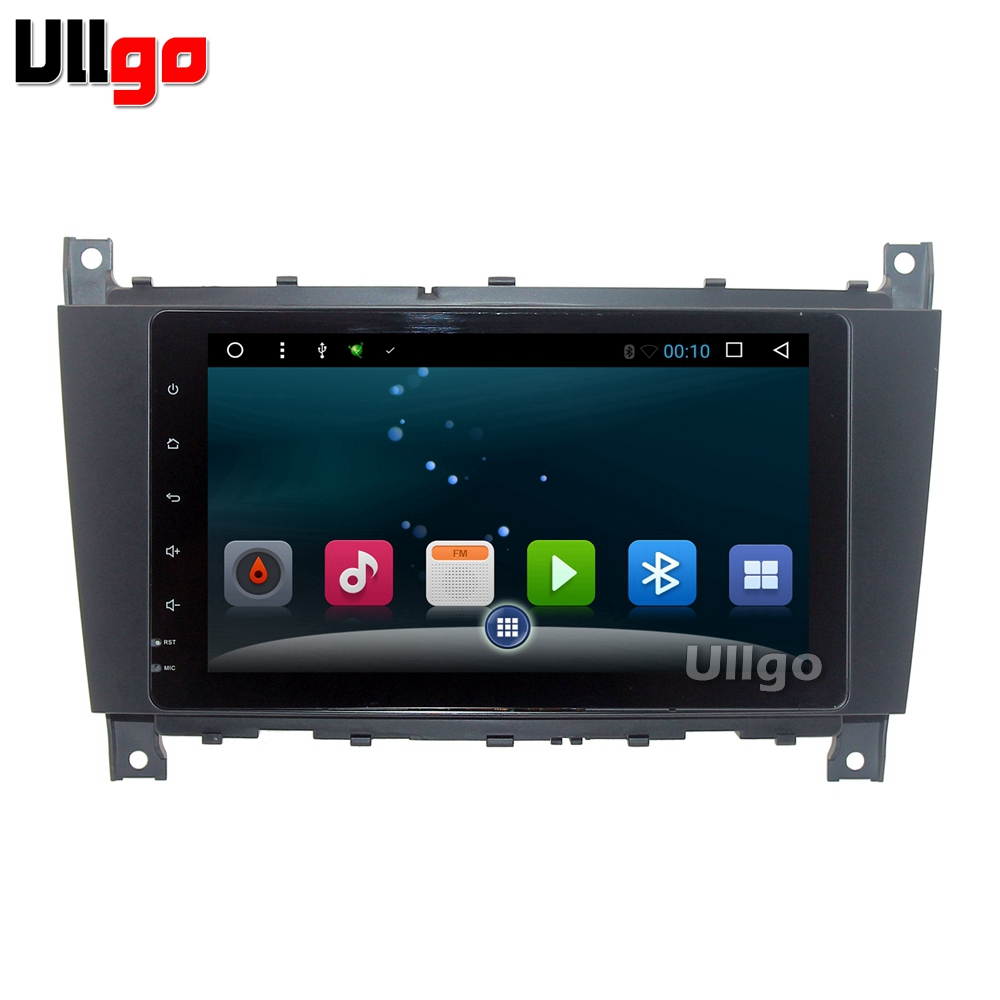 US $315 7 18% OFF|9 inch Android Car Head Unit for Mercedes Benz C Class  W203 C200 C230 C320 CLK 200 CLK350 CLK500 Autoradio GPS-in Car Multimedia