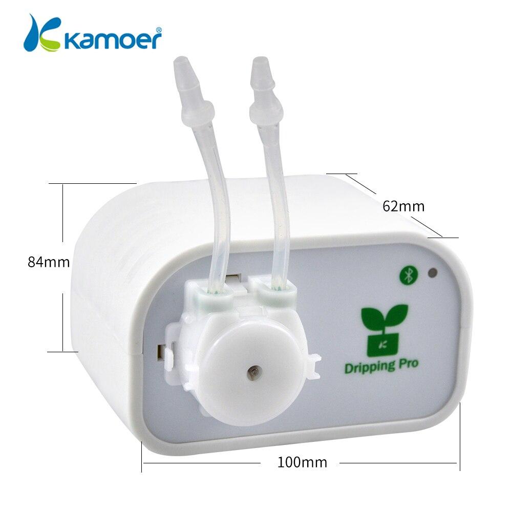 Kamoer bomba de irrigação por gotejamento Automático/Sistema de rega kits utilizados para a planta de jardim/controlado por Bluetooth