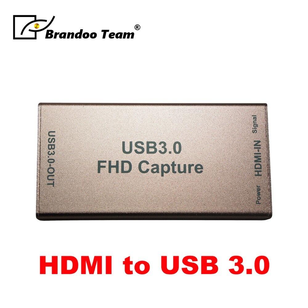 Carte de Capture de jeu HD HDMI vers USB 3.0 HD vidéo 1080 P dispositif d'enregistrement de jeu en direct pour PS4-in Transmission et câbles from Sécurité et Protection on AliExpress - 11.11_Double 11_Singles' Day 1