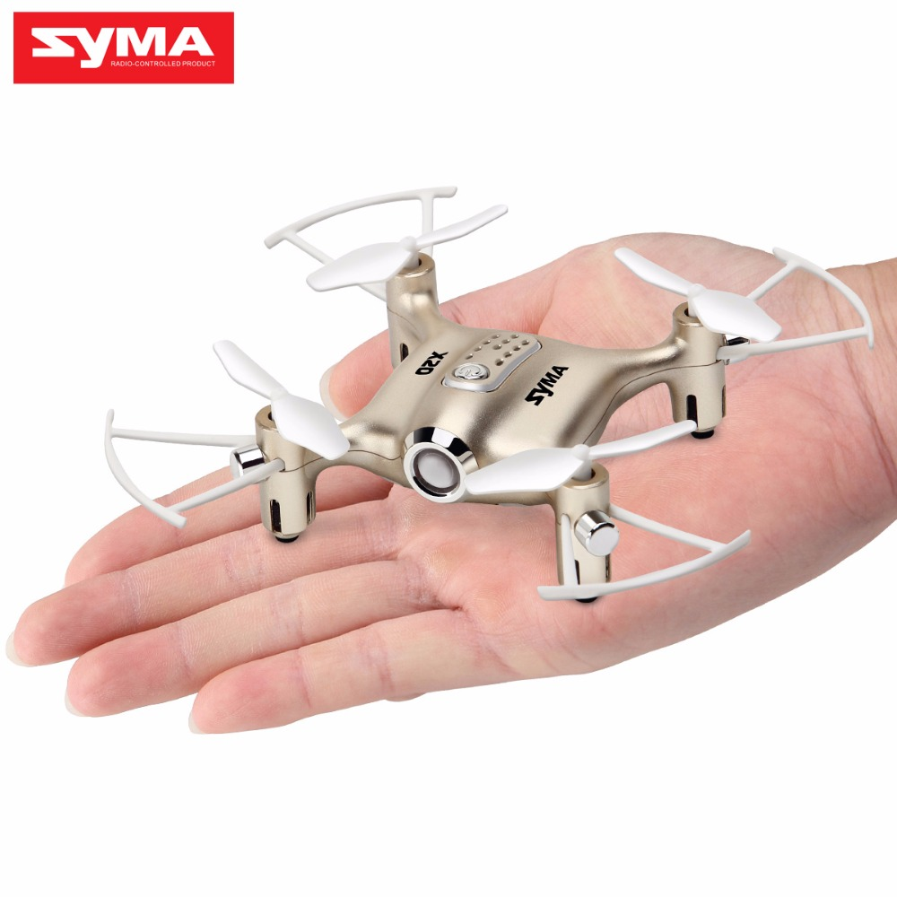 Mini Drone RC Dron SYMA X20 Quadcopter 2 4G 4CH 6 aixs Gyro RTF with Headless Mode Altitude Hold 3D flip Latest Aircraft in RC Helicopters from Toys Hobbies
