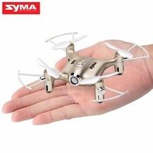 Mini Drone RC Dron SYMA X20 Quadcopter 2.4G 4CH 6-aixs Gyro RTF with Headless Mode Altitude Hold 3D-flip Latest Aircraft syma x15w rc quadcopter rtf