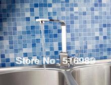 поворотный хром судно смеситель кран кран ванной бассейна 4 кухне hejia110