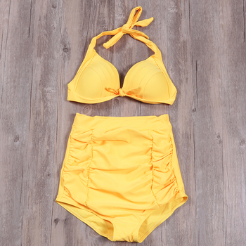977b90ebec61 De la hija de mamá de leopardo Verano de baño impreso Off-shoulder Ruffle  Bikini FJ88