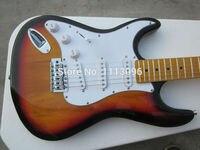 Электрогитара оптовой новый Гитары ra ST Гитары ra/sunburse цвет клен шеи/левая рука гитары