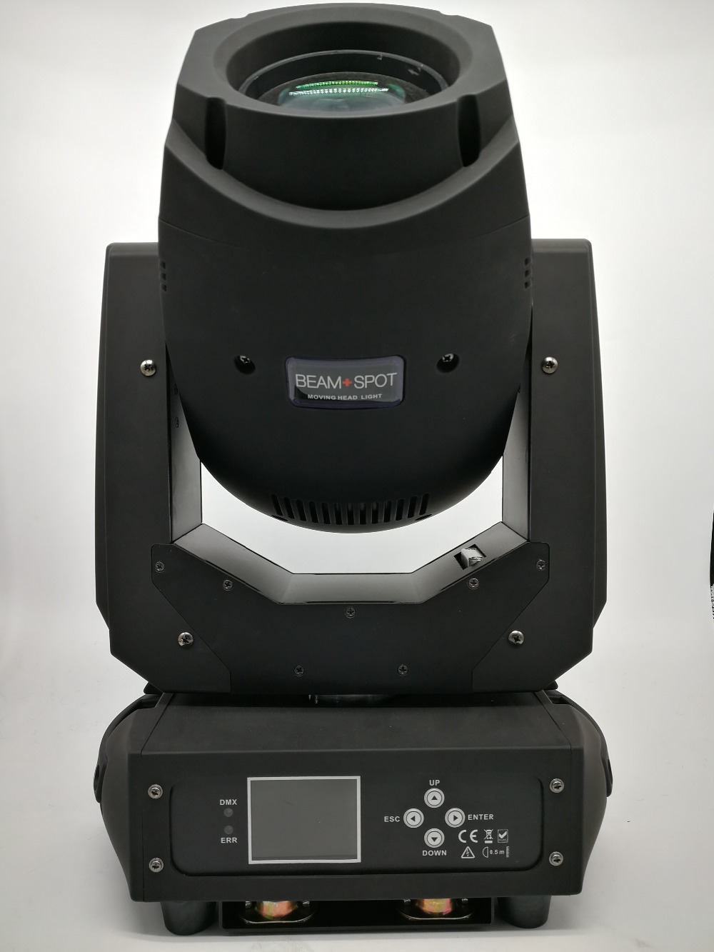 2 in 1 Flight case 200W beam spot moving head dj stage light dmx512 disco led mini gobo projector lcd display for wedding show