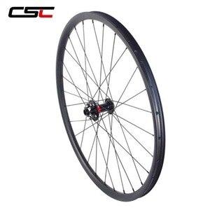 Image 2 - 29 MTB Ruote 29er Mountain Bike Wheelset 30 millimetri di Larghezza 25 millimetri Tubeless Gara XC Hookless 29 Inch MTB Ruote