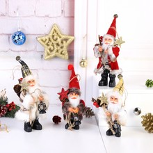 2019New Year Christmas Santa Claus Doll Toy christmas decorations for home tree Xmas Gift