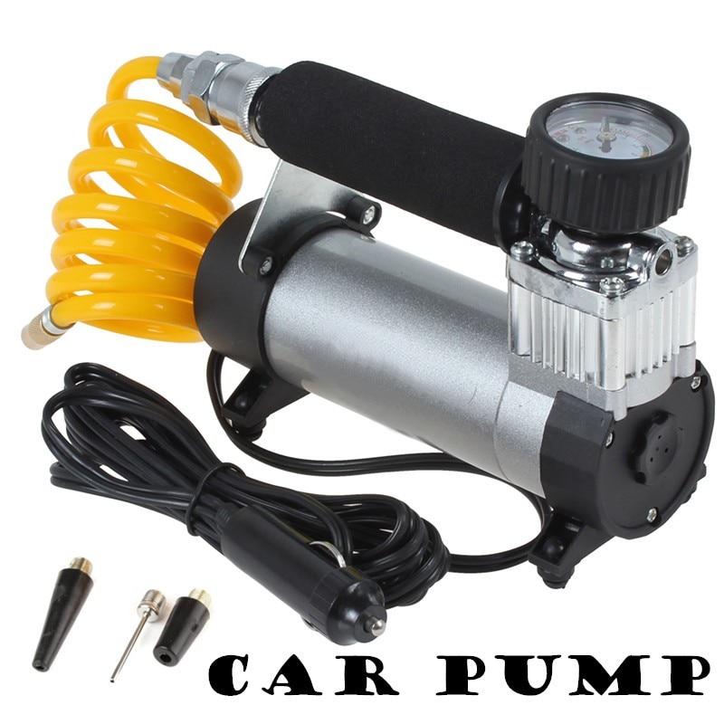YD-3035 voiture gonfleur Portable Super débit 12 V 100PSI voiture pompe compresseur d'air/Auto électrique gonfleur de pneu