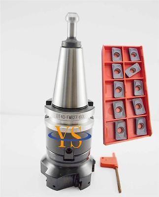 New BT40 M16 +Square face  mill400R-80-27 +10pcs APMT1604 carbide insert new bt40 m16 square face mill400r 80 27 10pcs apmt1604 carbide insert