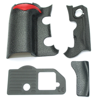 NEW A Set of 4 Pieces Grip Rubber Cover Unit For Nikon D300S Digital Camera Body Rubber Shell + Tape