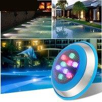 Fanlive 10 шт. 6 Вт 12 Вт 15 Вт 18 Вт 24 Вт 36 Вт IP68 AC 12 В 24 В RGB светодио дный подводные фонари для бассейнов наружного освещения Пруд лампы