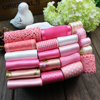 New Arrival Hot Free Shipping 20 Yard 20 Style Ribbons Set For Handmade Bow Hair Accessory