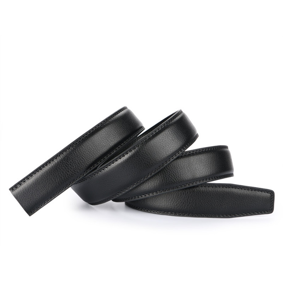 1d3f2113c Designer high quality No Buckles 3.1cm Wide split Leather Belt Without  Automatic Buckles and pin Strap 7