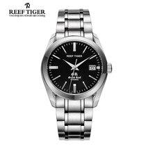 Риф Тигр/RT Швейцарский Бренд Платье Бизнес Часы для Мужчин Автоматические Часы Из Нержавеющей Стали Водонепроницаемые Часы как Подарок RGA818