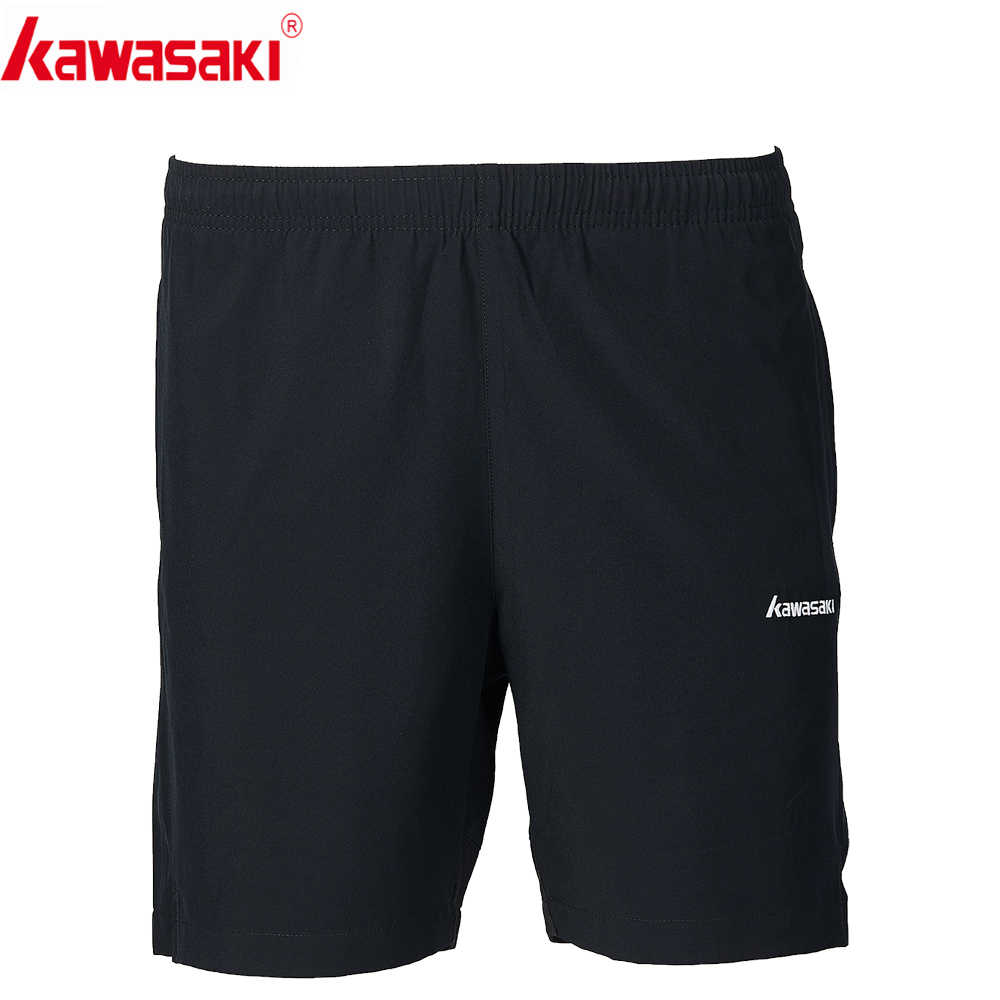 2019 Kawasaki Men Badminton Shorts  Table Tennis Shorts Training Black Shorts Polyester Sports Shorts Men SP-S1652
