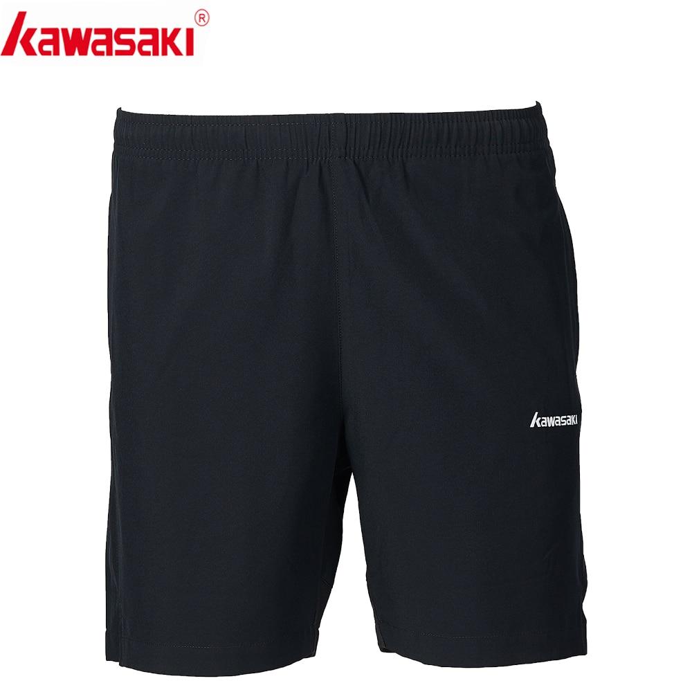 2019 Kawasaki Men Badminton Shorts  Table Tennis Shorts Training Black Shorts Polyester Sports Shorts Men SP-S1652