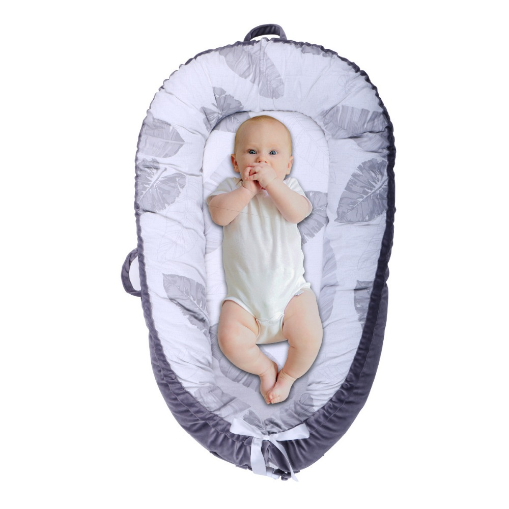 Portable Folding Travel Bassinet Baby Bed Baby Crib Bed On The Go Infant bed 0 24M