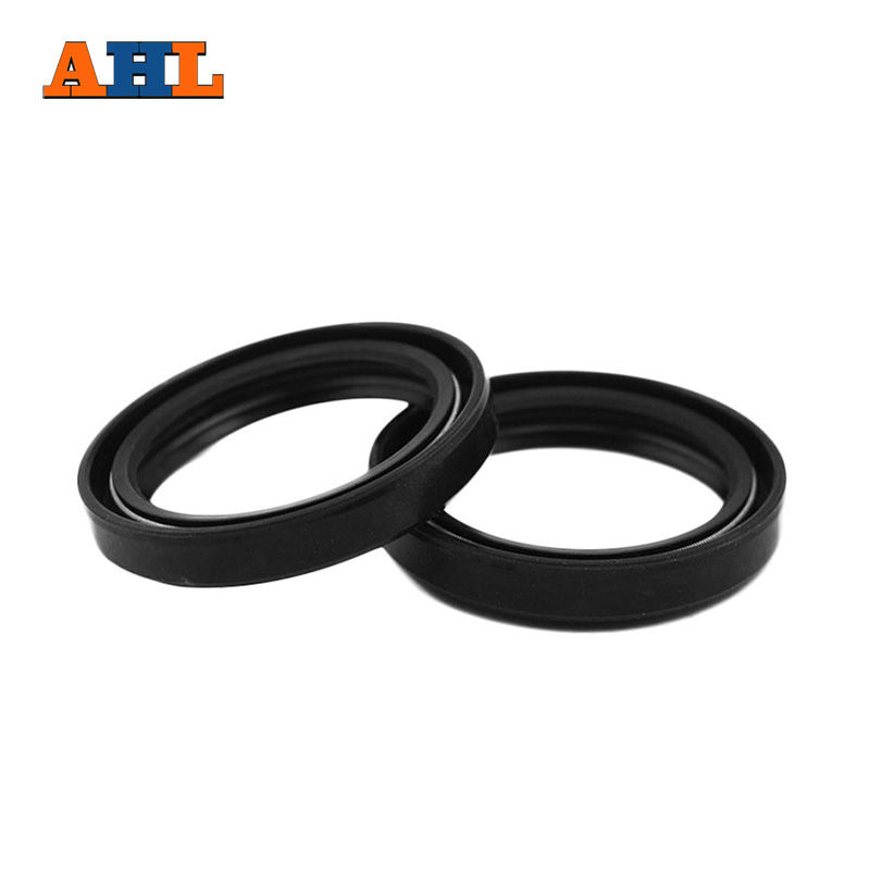 цены AHL Motorcycle Front Fork Damper oil seal for SUZUKI GSF400 Bandit 400 1991 1992 1993 Shock absorber oil seal