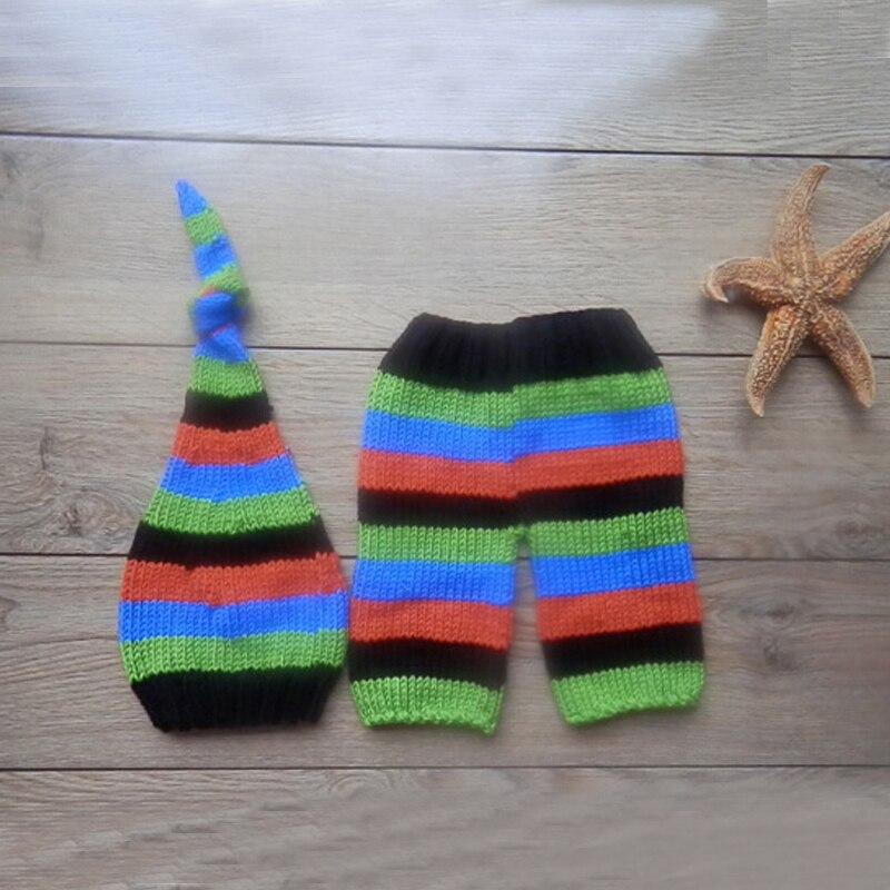 Newborn Baby Photography Props Infant Girls Boys Hat Pant Crochet