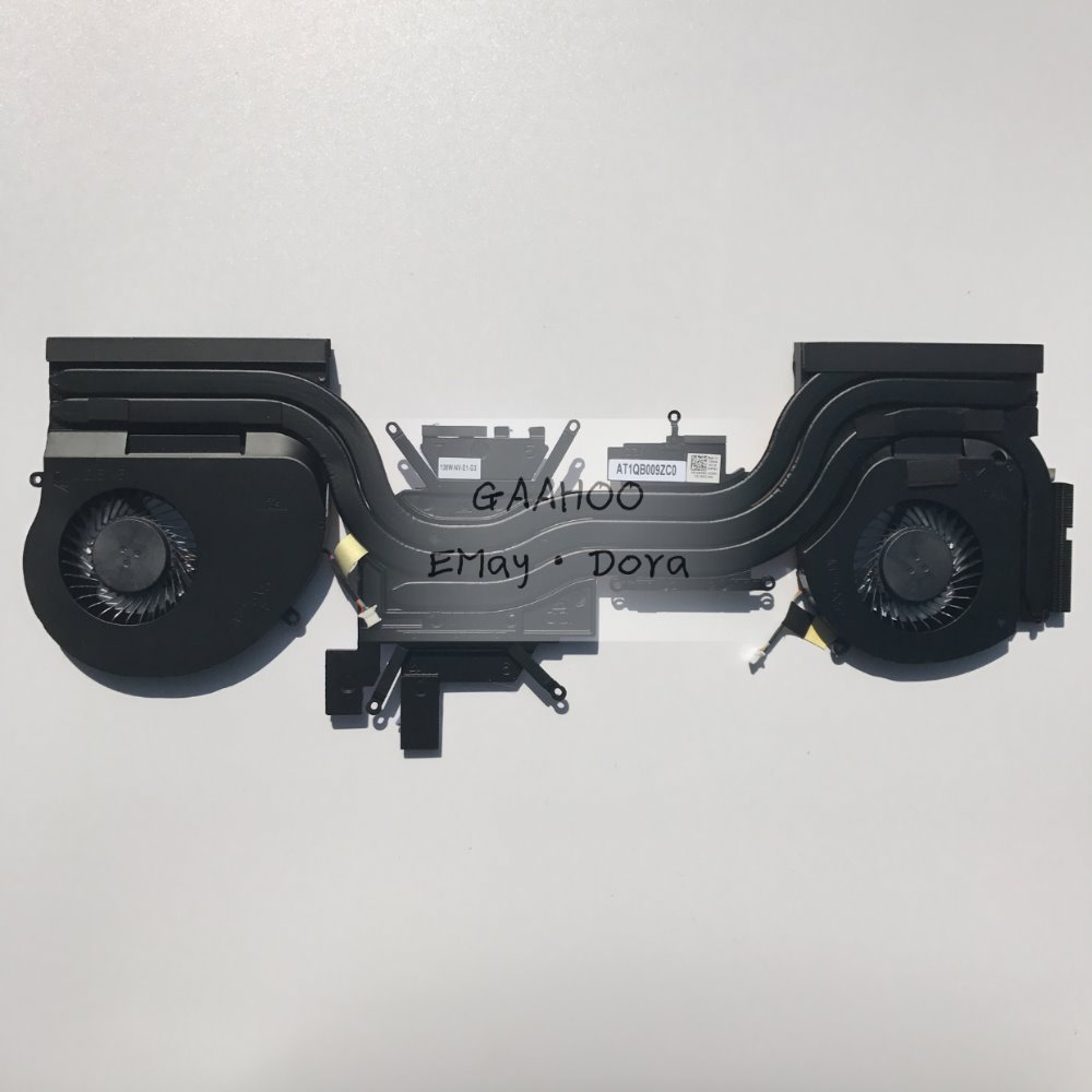 New laptop parts for DELL alienware 17 r4 GTX1080M GTX1070M Built-in 138W high-power radiator thermal mdel 04RFW1 4RFW1 mh 138w