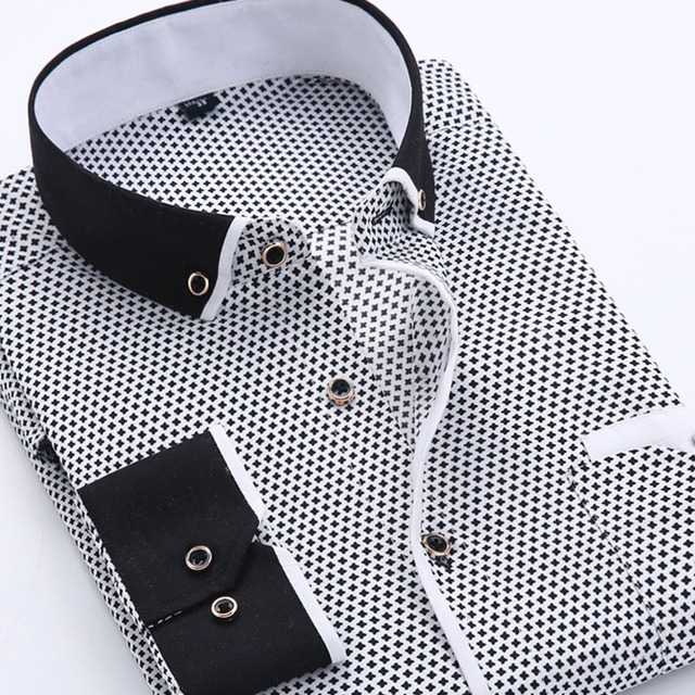 Aliexpress.com : Buy 2015 Fashion Design Button Down Shirts for ...