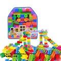 83 juguetes bloques de mini bloques de construcción enlighten unids/bolsa grandes ladrillos diy bloques insertados lucha bloques de plástico para niños