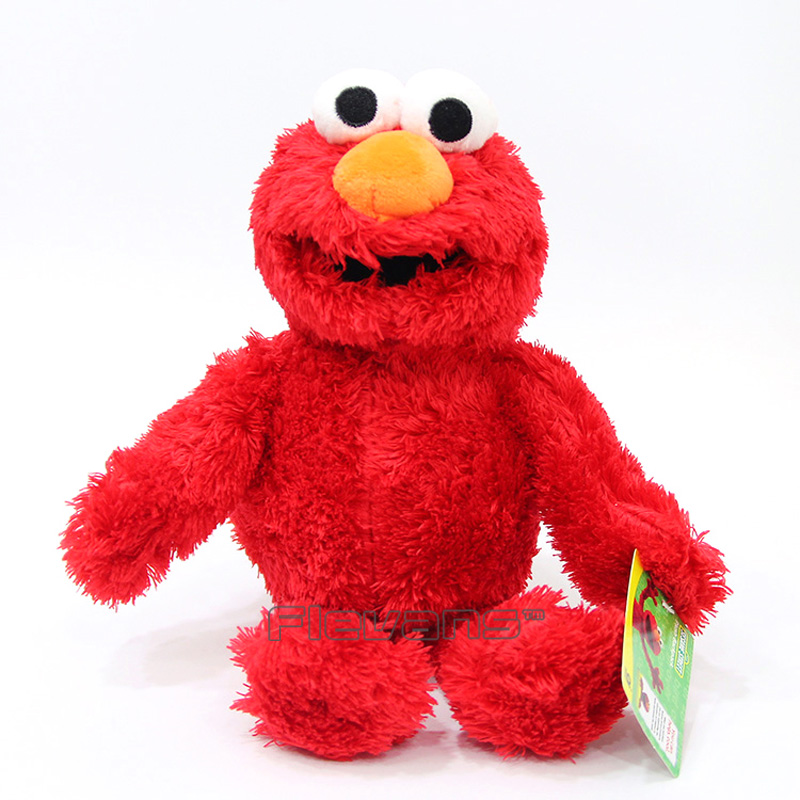 Sesame Street Elmo Cookie Monster Plush Toy Soft Stuffed